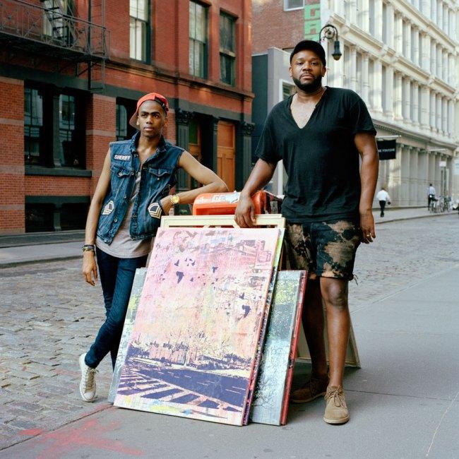 Selina Ou. 'Darren, Model and Carlito, Artist, Soho, New York' 2011