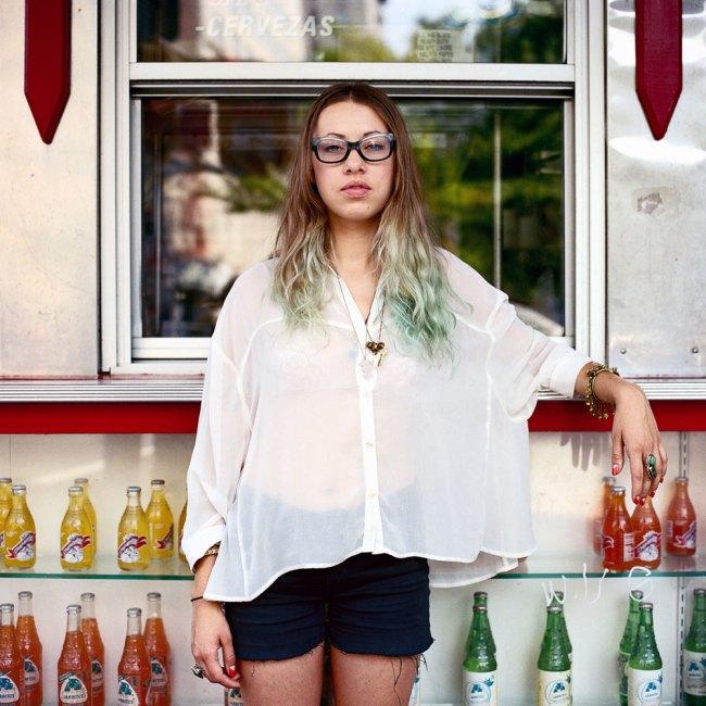Selina Ou. 'Raquel, Waitress and Fashion Designer, Nolita, New York' 2011
