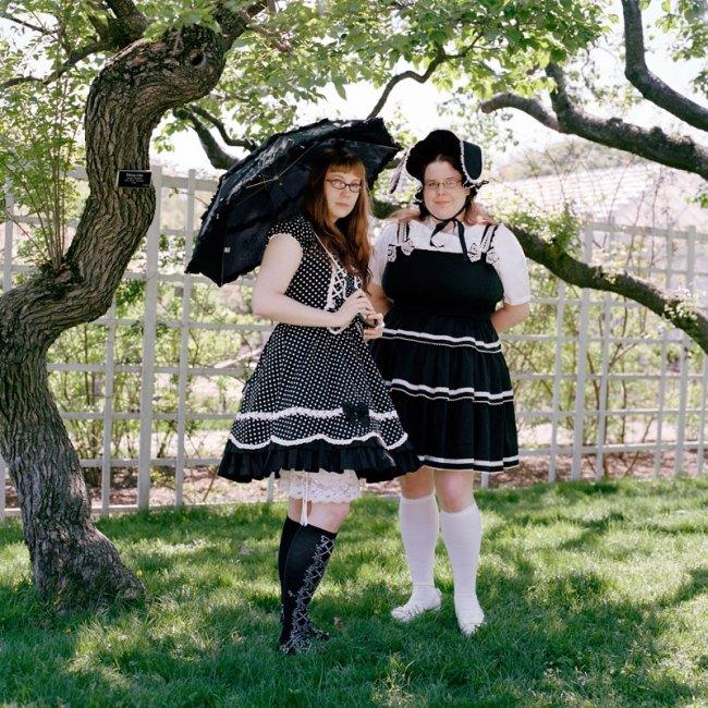 Selina Ou. 'Carolyn and Jane, Lolitas, Brooklyn Botanical Garden, New York' 2011