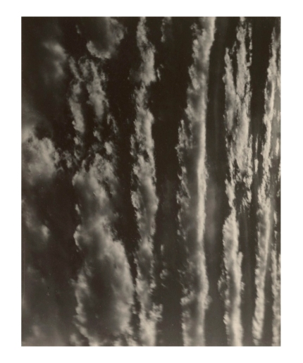 Alfred Stieglitz. 'Songs of the Sky' 1924