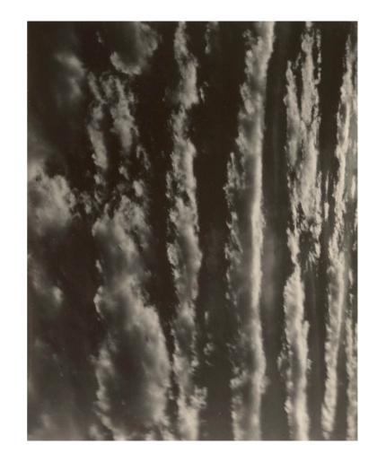 Alfred Stieglitz. 'Songs of the Sky' 1924