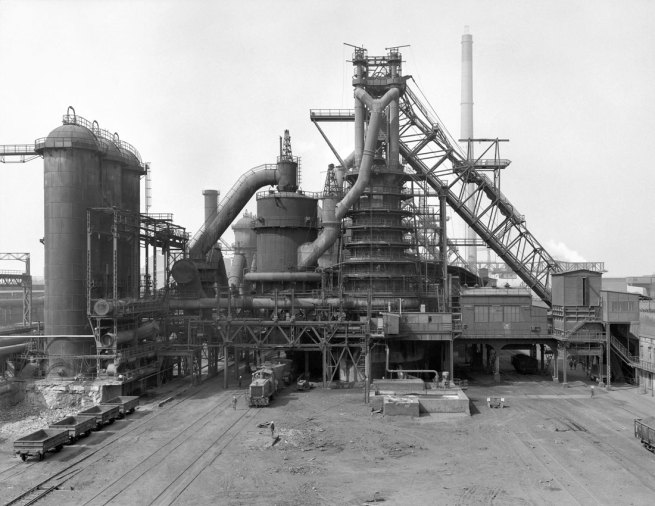 Bernd and Hilla Becher. 'Duisburg-Huckingen, D' 1970