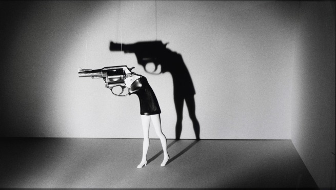 Laurie Simmons (American, born 1949). 'Walking Gun' 1991