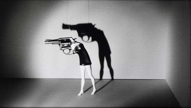 Laurie Simmons (American, born 1949). 'Walking Gun' 1991