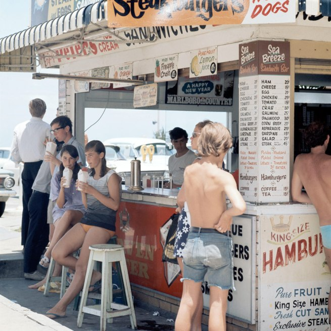 Anon. 'Snack bar, Surfers Paradise, QLD' 1971 National Archives of Australia