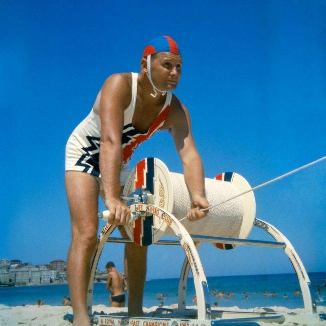 Anon. 'Surf lifesaving, Bondi Beach' 1960 National Archives of Australia