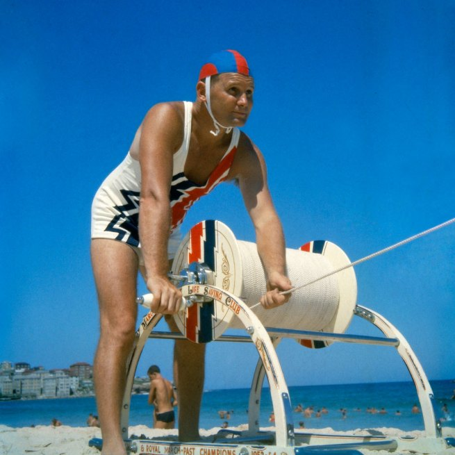 Anon. 'Surf lifesaving, Bondi Beach' 1960 National Archives of Australia