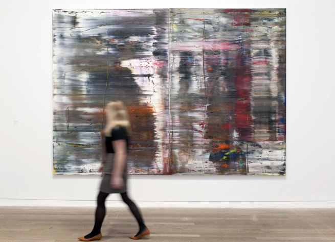 Gerhard Richter. 'Abstract Painting' 1990