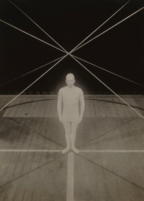 Irene Bayer. 'No title (Man on stage)' c. 1927