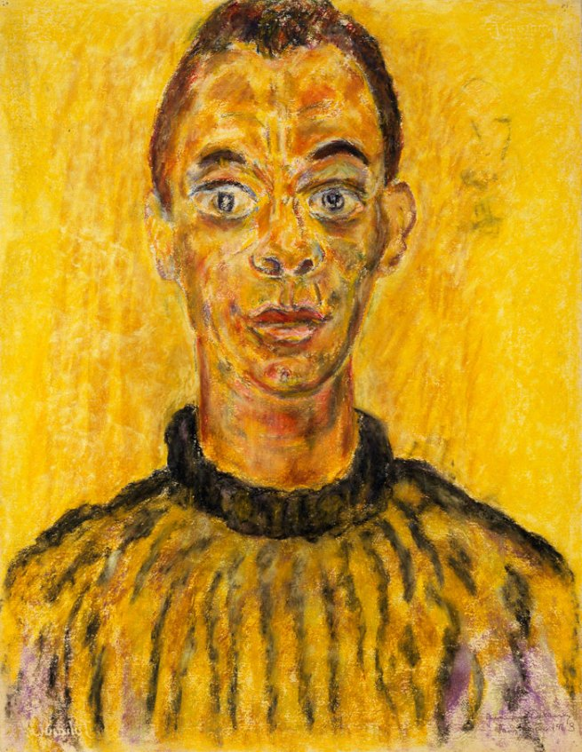 Beauford Delaney (American, 1901-1979) 'James Baldwin' 1963