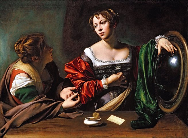 Caravaggio. 'Martha and Mary Magdalene' c. 1598