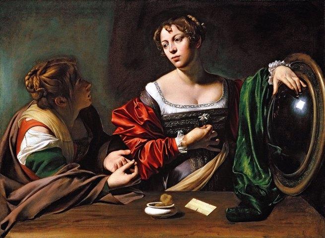 Caravaggio. 'Martha and Mary Magdalene' c. 1598