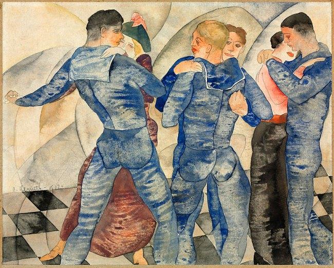 Charles Demuth. 'Dancing Sailors' 1917