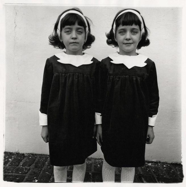 Diane Arbus. 'Identical twins, Roselle, N.J. 1967' 1967