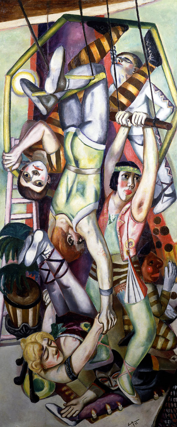 Max Beckmann. 'The trapeze' 1923