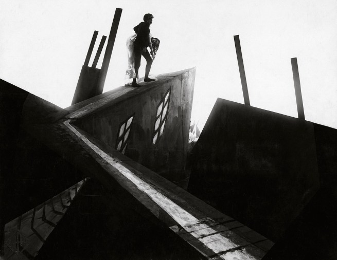 Robert Wiene, Director (German 1873-1938) Still from the 'Cabinet of Dr Caligari' 1919
