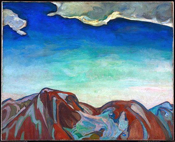 Frederick Horsman Varley. 'Cloud, Red Mountain' 1927-8