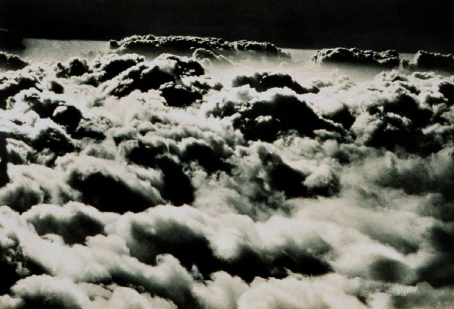 Unknown photographer Flying above a sea of clouds - altostratus from an aircraft (Plate Nr. 103 from: Wolken im Luftmeer / Clouds in a sea of air)