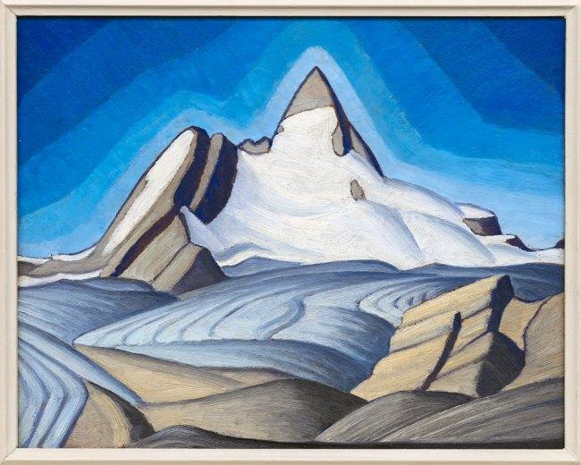 Lawren Harris. 'Isolation Peak' c. 1939