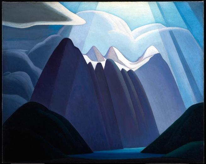 Lawren Harris. Untitled Mountain Landscape' c.1927-28