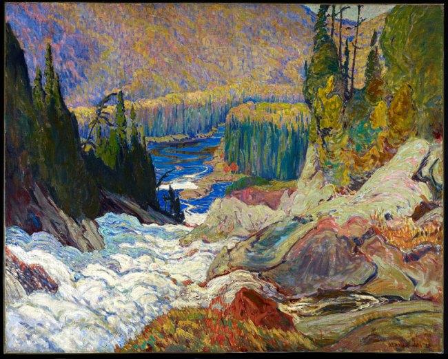 J. E. H. MacDonald. 'Falls, Montreal River' 1920