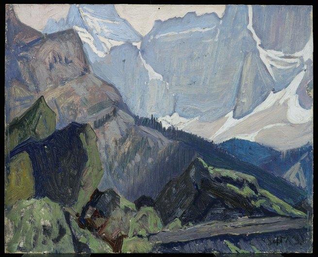 J. E. H. MacDonald. 'Mount Biddle' 1930