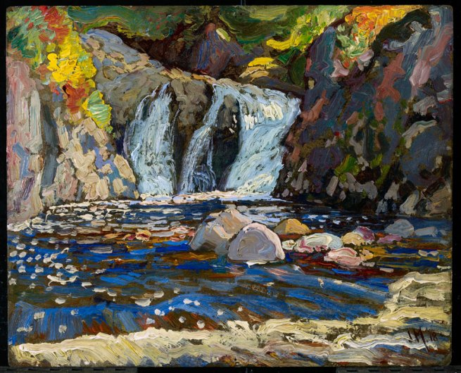 J. E. H. MacDonald. 'The Little Falls' 1918