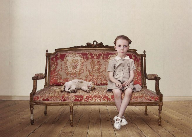 Loretta Lux (Germany b. 1969) 'The waiting girl' 2006