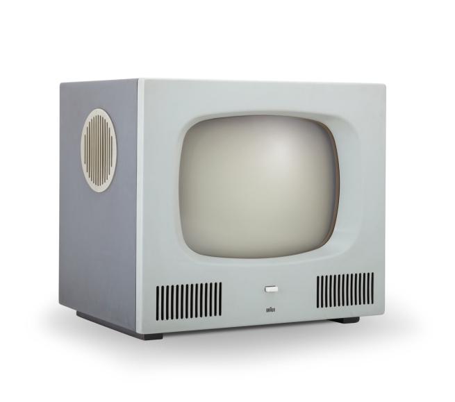 Braun. 'Television set HF 1' 1958