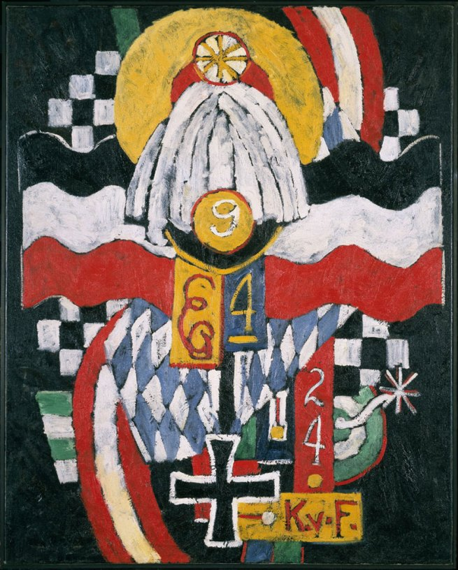 Marsden Hartley. 'Painting No. 47, Berlin' 1915