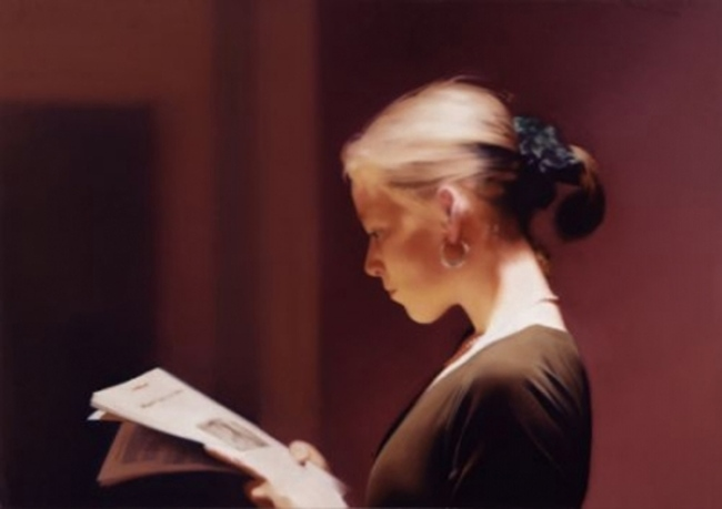 Gerhard Richter. 'Reader' 1994