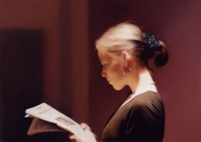 Gerhard Richter. 'Reader' 1994