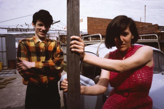Robert Rooney (Australia, b. 1937) 'Portrait of Maria Kozic and Philip Brophy II' 1981