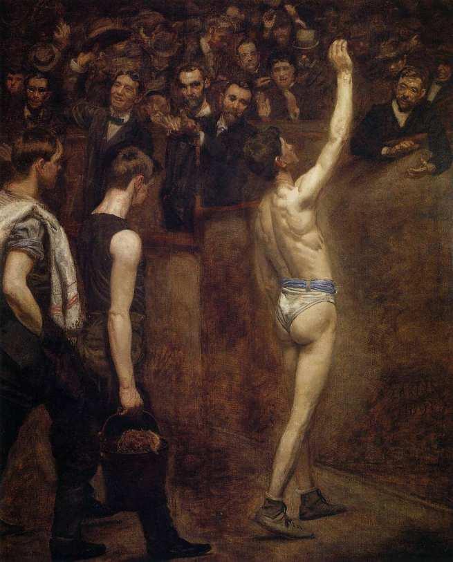 Thomas Eakins (American, 1844 -1916) 'Salutat' 1898