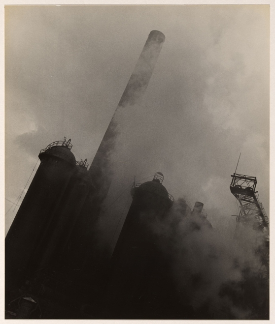 Wolfgang Sievers. 'Blast furnace in the Ruhr, Germany' 1933