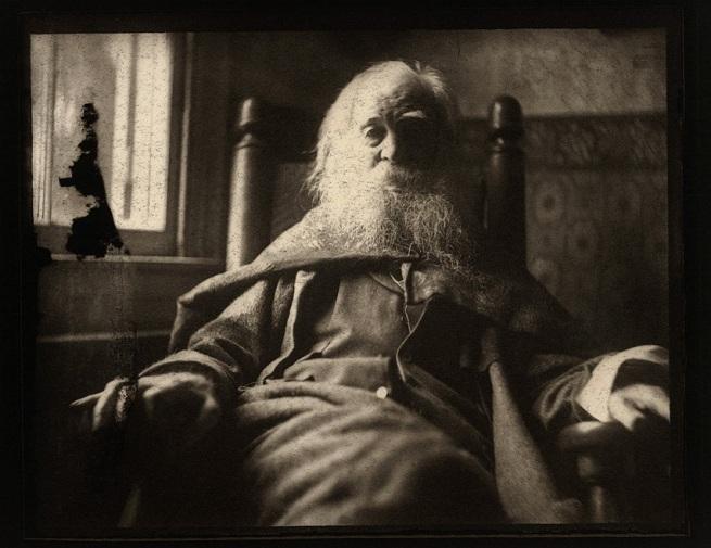 Thomas Eakins (American, 1844-1916) 'Walt Whitman' (American, 1818-1892) 1891