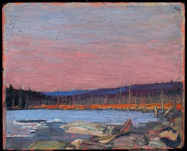 Tom Thomson. 'A Northern Lake' c. 1916