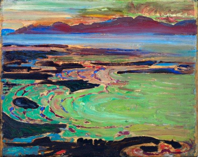 Frederick Horsman Varley. 'West Coast Sunset, Vancouver' c. 1926