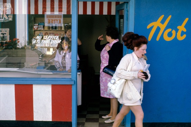 Daniel Meadows. 'Untitled' from 'Butlin's Filey, Yorkshire', July-August 1972