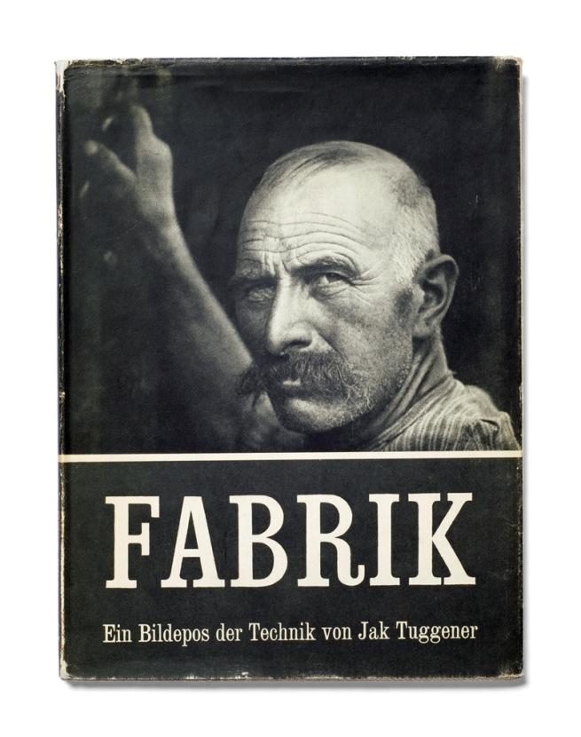 Jakob Tuggener. 'Fabrik' (cover) Rotapfel Verlag, Erlenbach-Zurich 1943