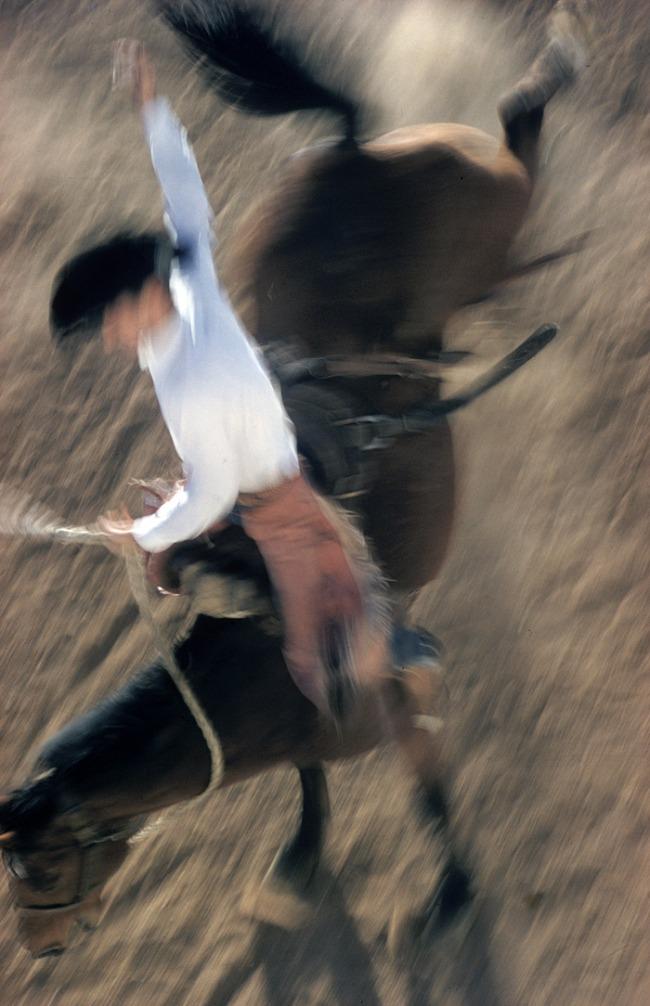 Ernst Haas (1921–1986) 'Bronco Rider, California' 1957