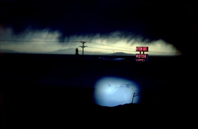 Ernst Haas (1921–1986) 'Western Skies Motel' 1978