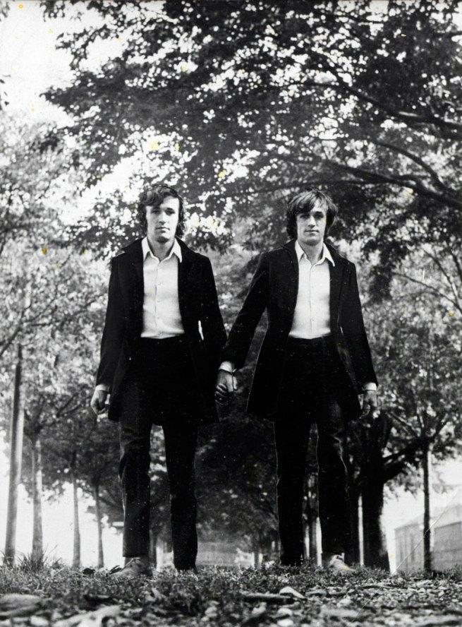 Alighiero Boetti (Italian, 1940–1994) 'Twins (Gemelli)' September 1968