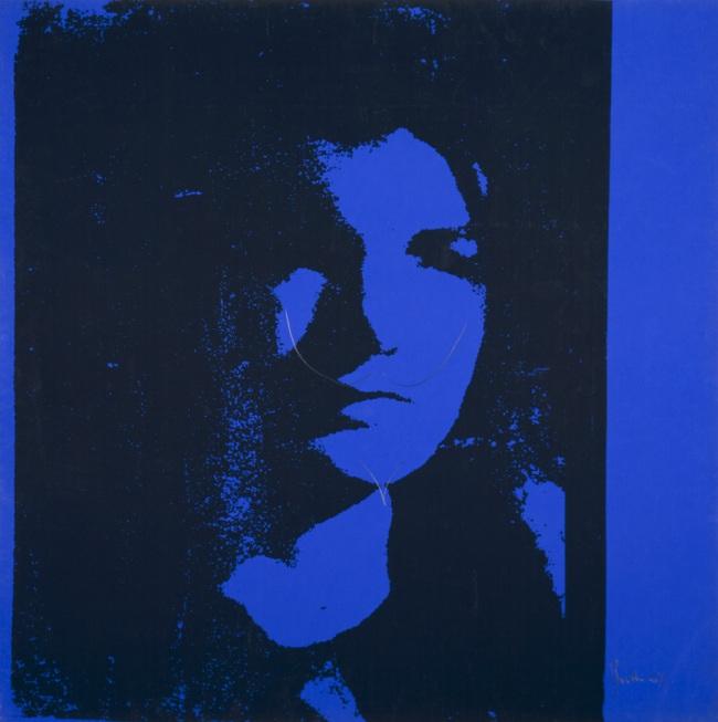 Alighiero Boetti (Italian, 1940-1994) 'AW:AB =L:MD (Andy Warhol: Alighiero Boetti = Leonardo: Marcel Duchamp)' 1967