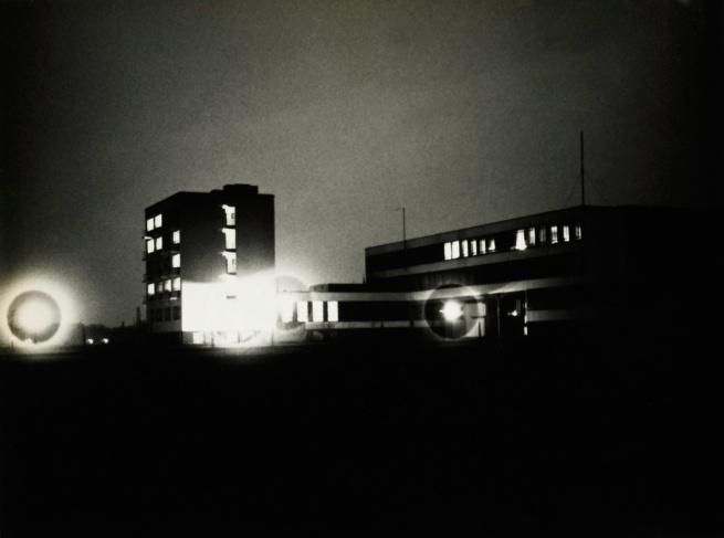 Lyonel Feininger (American, 1871-1956) 'Bauhaus' March 22, 1929