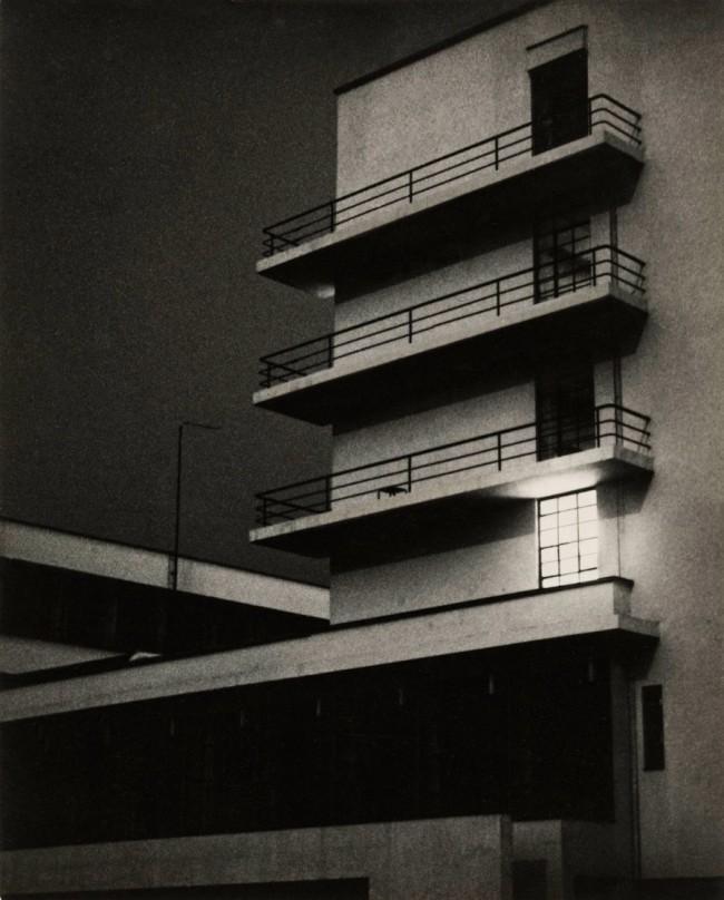 Lyonel Feininger (American, 1871-1956) 'Bauhaus' March 26, 1929