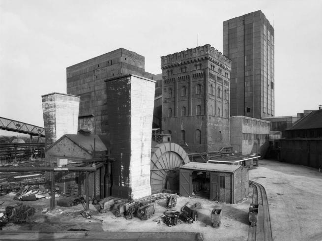 Bernd und Hilla Becher. 'Hannover Mine 1/2/5, Bochum-Hordel, Ruhr Region, Germany' 1973