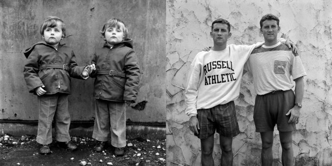 Daniel Meadows (British, b. 1952) From the series 'National Portraits: Now & Then'