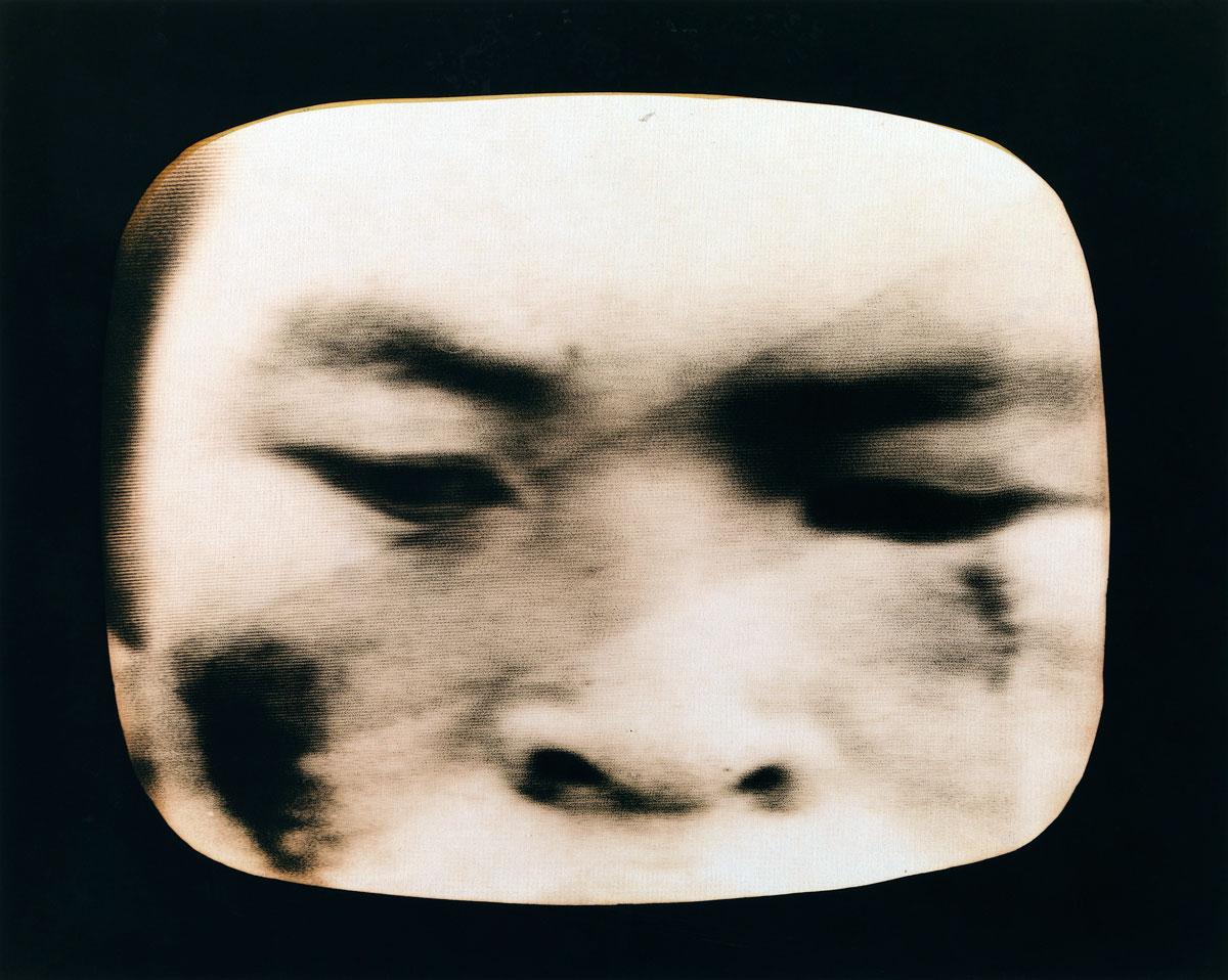 John Immig. 'No title (T.V. images)' 1975-76