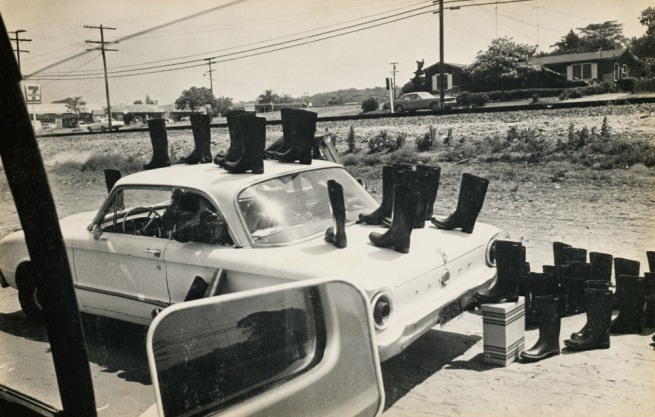 Eleanor Antin (American, born 1935) '100 Boots' 1971-73